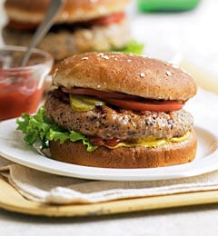 Hearty Southern Bean Burgers Recipe