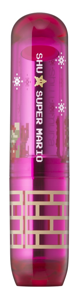 Shu Uemura x Super Mario Bros Rouge Unlimited Sheer Shine, $30