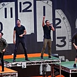 Big Time Rush changed their sets multiple times and put on a great show for Slimefest-goers.