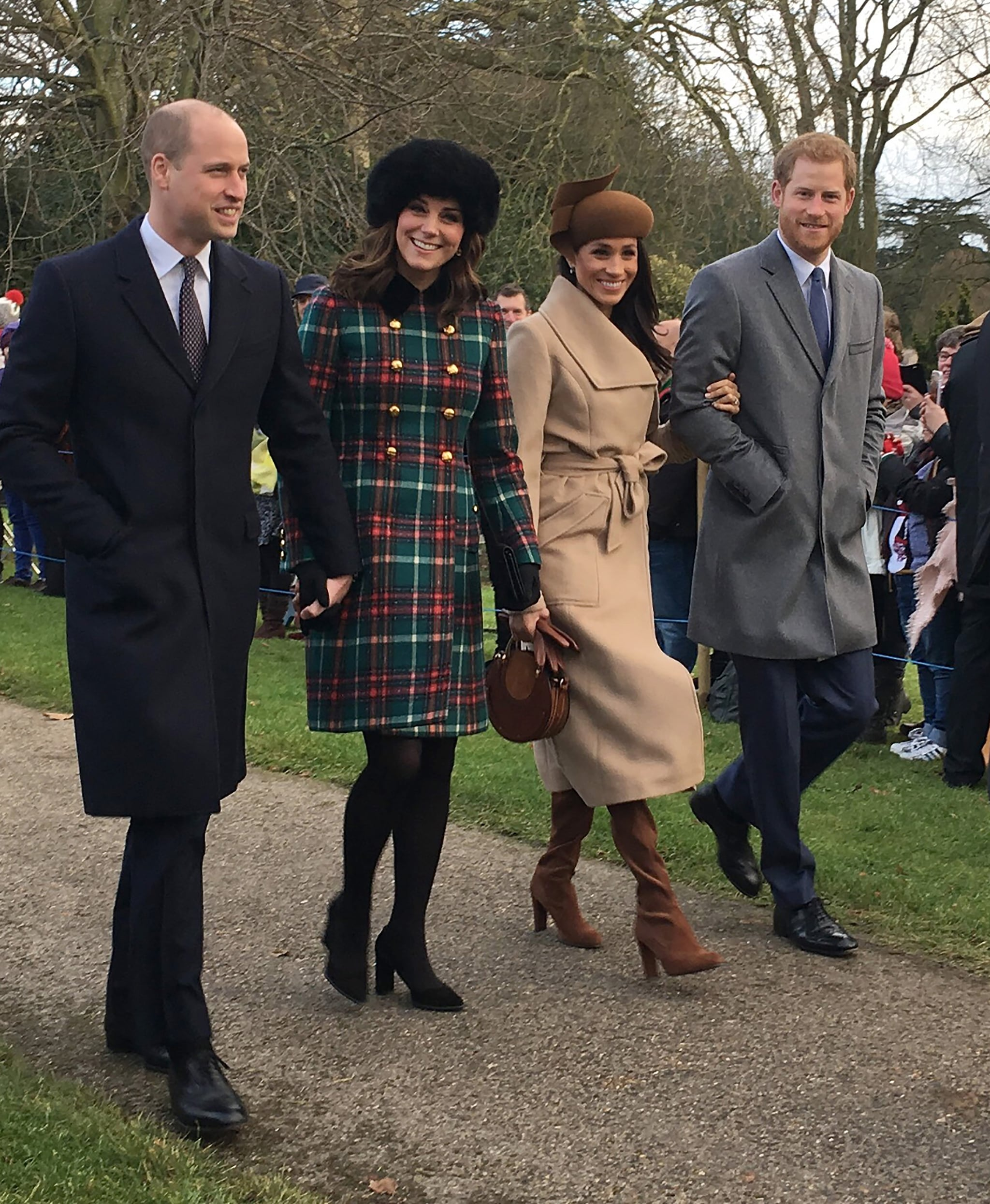 the british royal family looked picture perfect as they stepped out for a christmas day service at st mary magdalene church on monday but there is one - Kate Middleton Christmas