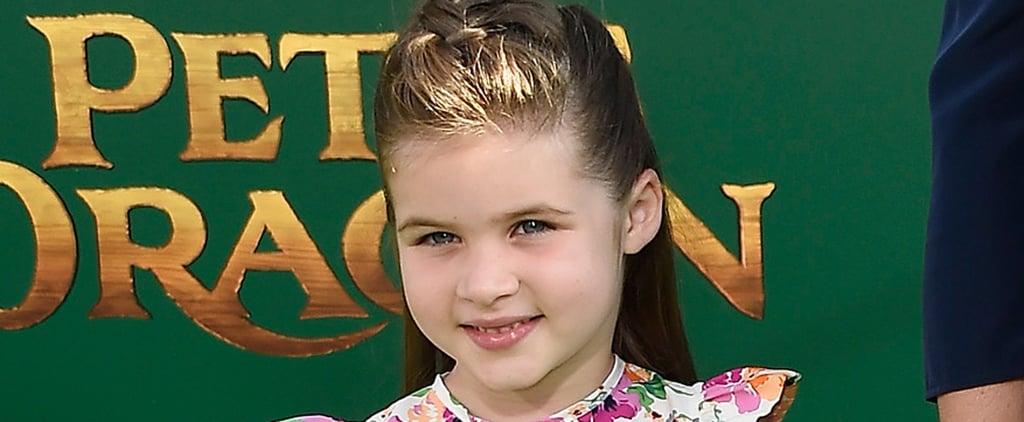 Tiffani Thiessen and Daughter at Pete's Dragon LA Premiere