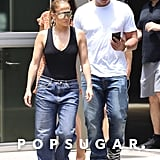 Jennifer Lopez and ARod Denim July 2018