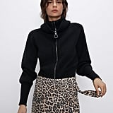 Zara Faux Suede Shorts