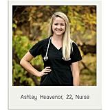 Ashley Heavenor, 22, Nurse