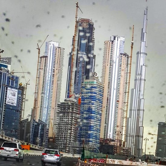 Accidents on Dubai Roads Rain 2017