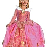 Disney Maleficent Girls' Storybook Aurora Prestige Costume