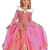 Disney Maleficent Girls' Storybook Aurora Prestige Costume