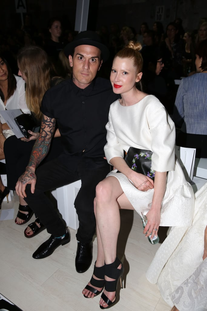 Dominic Jospeh and Emma Booth at MBFWA Day Three