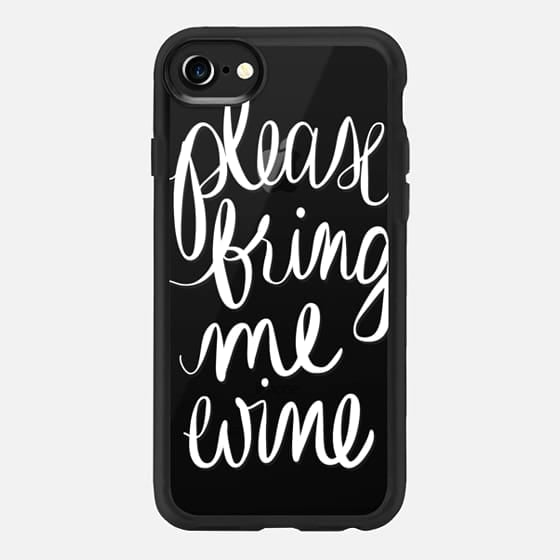"Casetify ""Please Bring Me Wine"" iPhone 7 Case"