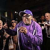 Spike Lee held a public block party in the Fort Greene neighborhood of Brooklyn.
