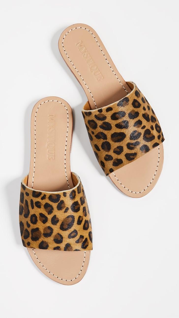 Mystique Leopard Slide Sandals Best Women S Sandals 2019
