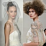 Even though wedding season is over, there are women in planning mode everywhere. This bridal hair from the runway post was a definite winner.