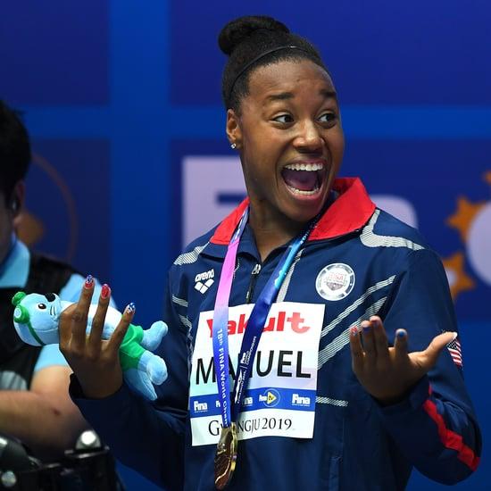 Simone Manuel Wins 100 Free at the 2019 World Championships