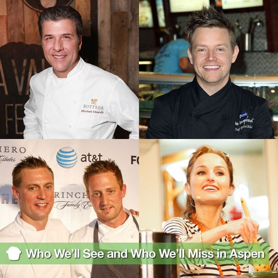 4 Food Personalities We're Excited to See in Aspen, and 6 We'll Miss