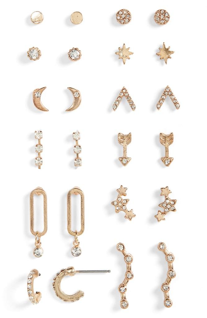 BP. Celestial Set of 12 Earrings