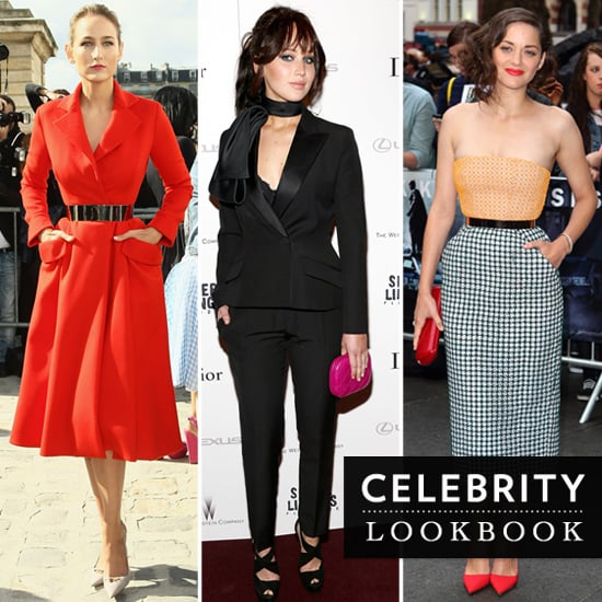 Celebrities In Raf Simons' Christian Dior: Marion Cotillard