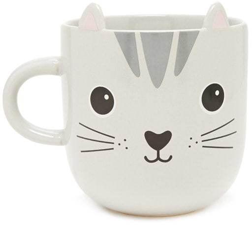 Forever 21 Sass & Belle Cat Mug
