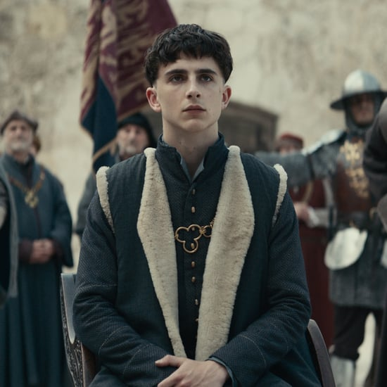 Timothee Chalamet The King Movie Poster