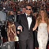 Jan. 2005: Brad and Jen Announce Their Split