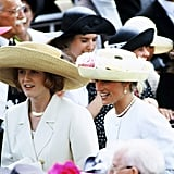 Sarah Ferguson and Princess Diana, 1991