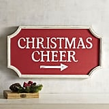 Christmas Cheer Wall Sign ($50)