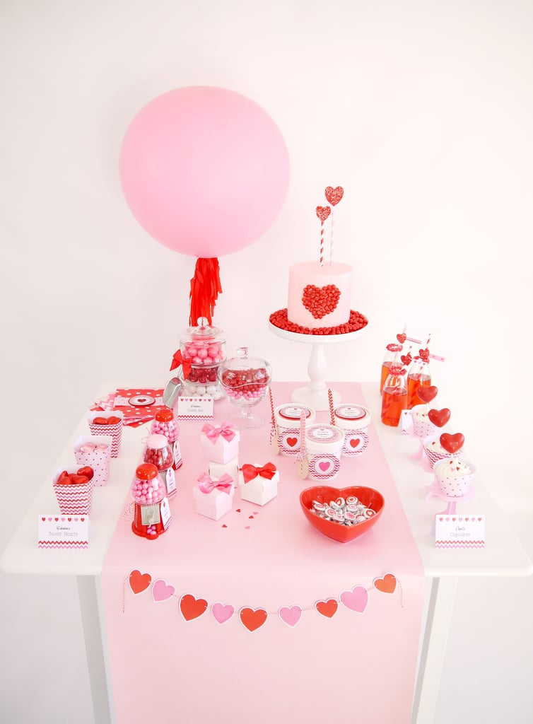 A Candy-Filled Valentine's Day Party For Your Little Sweetheart