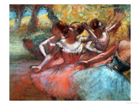 Four Ballerinas ($50)