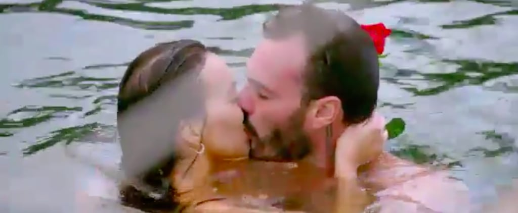 Bella and Locky Share First Kiss of The Bachelor 2020