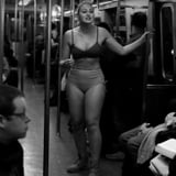 Iskra Lawrence Strips Down For PSA on the NYC Subway