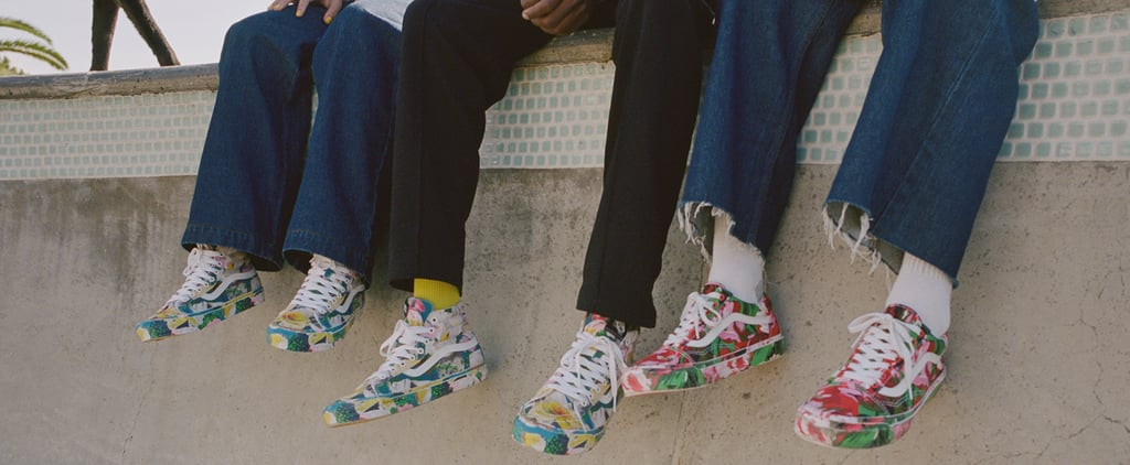 Kenzo x Vans Floral Sneaker Collaboration Spring/Summer 2020