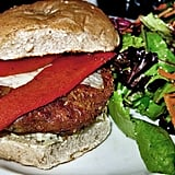 Spicy Chickpea Barley and Quinoa Veggie Burgers