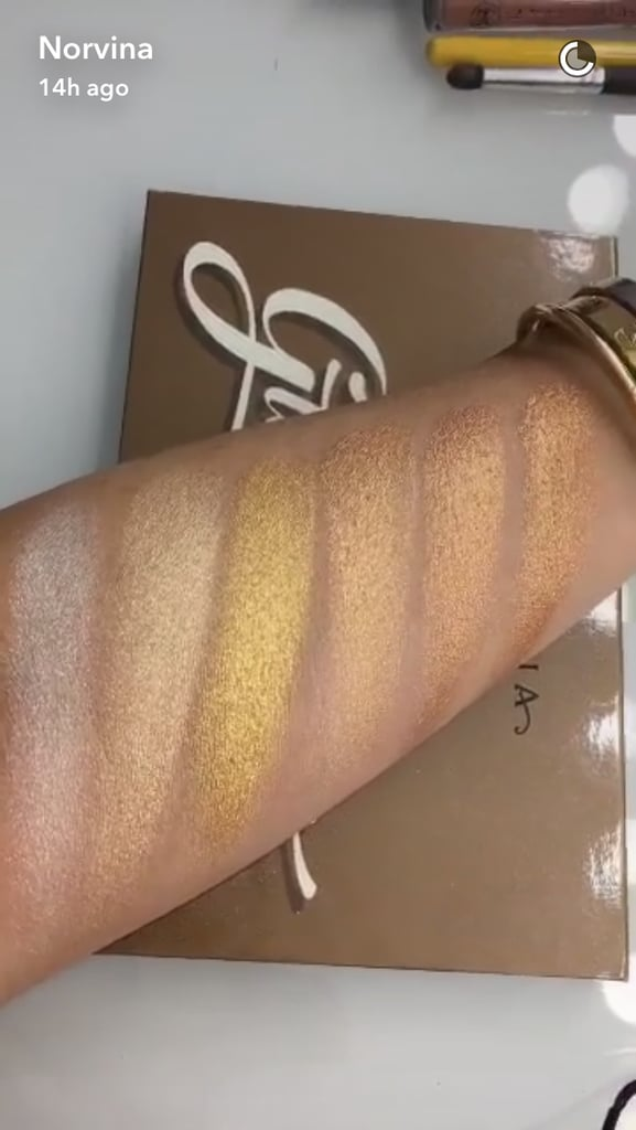 From left to right: Snow, White Sand, Golden Dawn, Sunray, Amber Gold, Hot Sand