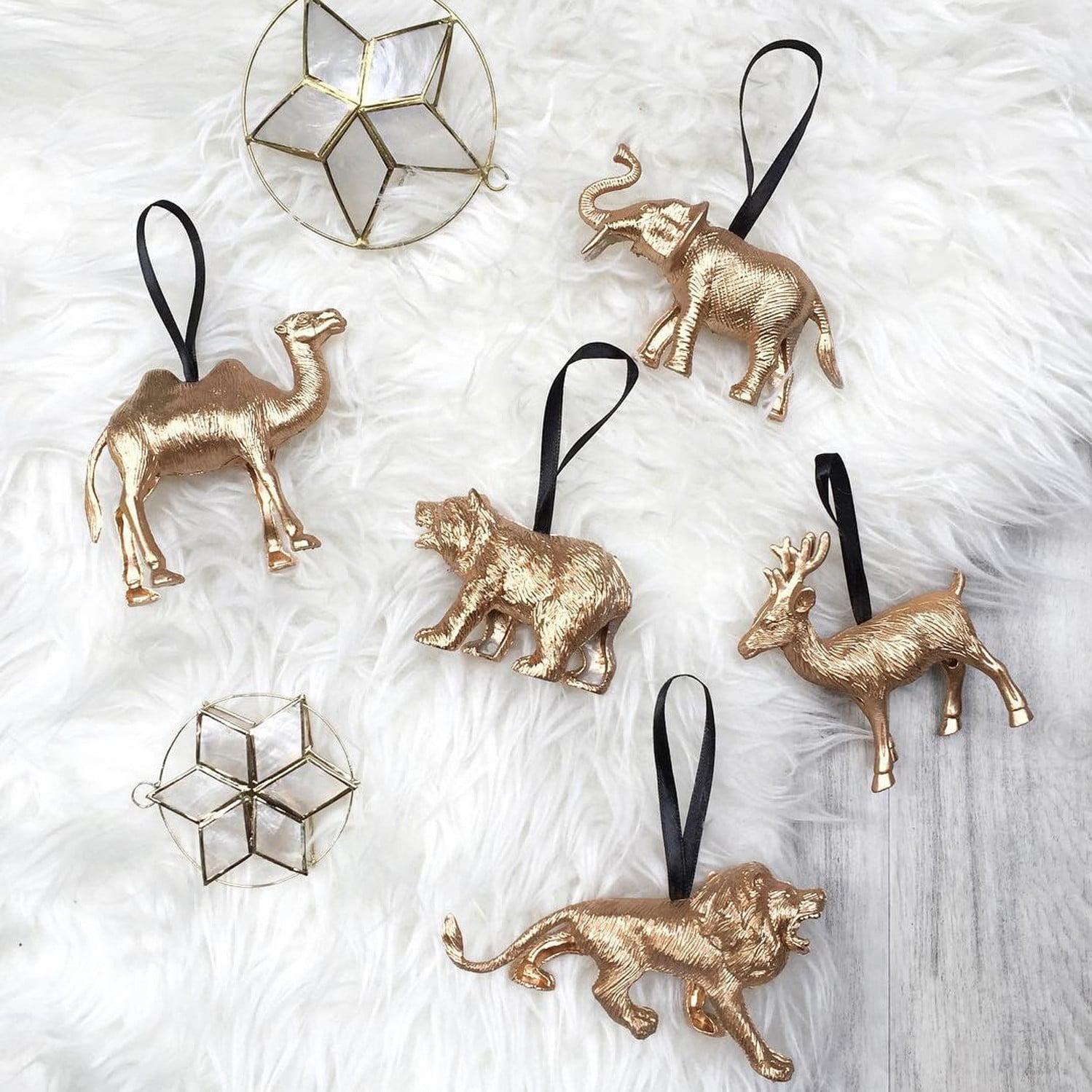 diy christmas ornaments popsugar smart living - Handcrafted Christmas Ornaments