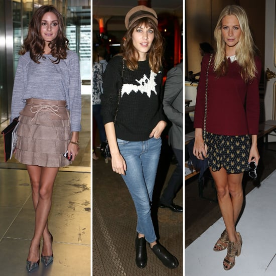 Front Row Celebrities at London Fashion Week Spring 2013