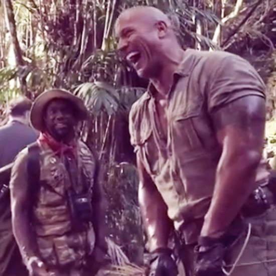 Dwayne Johnson Scaring Kevin Hart Instagram Video Oct. 2016
