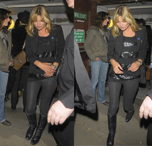 Celebrity Style: Kate Moss at The Kills gig