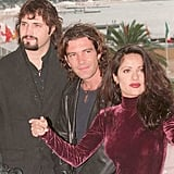 Throwback Picture of Antonio Banderas and Salma Hayek