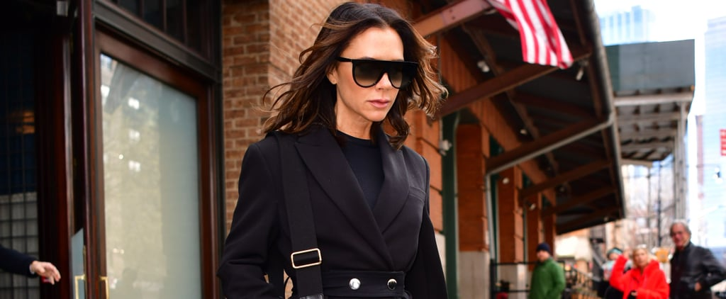 Victoria Beckham Stirrup Pants in New York November 2018