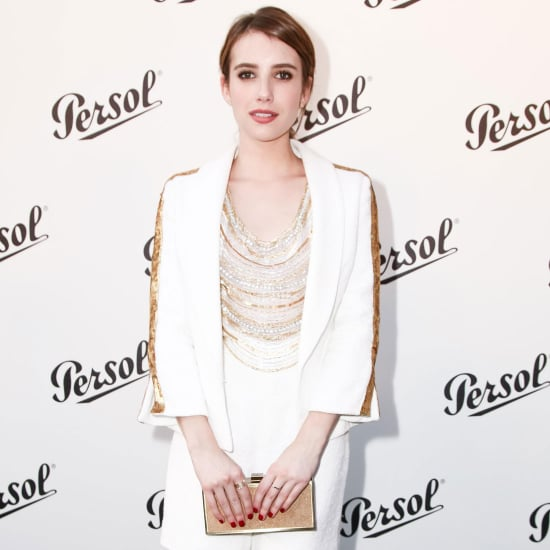 Emma Roberts at Persol NYC Event