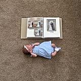 Baby vs. wedding scrapbook.