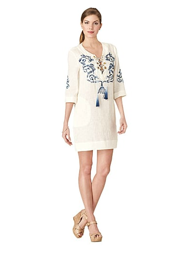 Accessorize this tunic with stacked bangles and aviators for a certifiably cool beach babe vibe.  Ivanka Trump Hilde Tunic ($99, originally $165)
