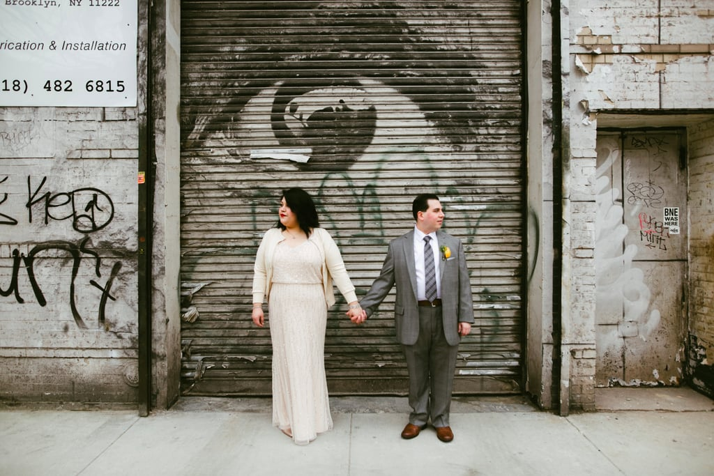 Cool and Casual Brooklyn Wedding