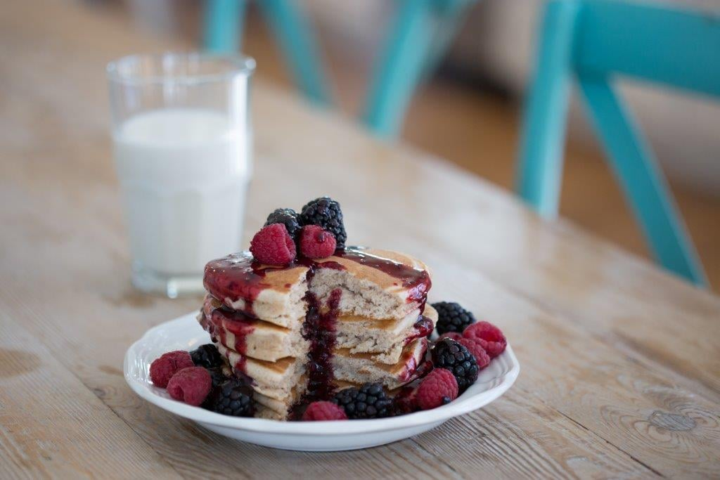 These Protein Pancakes Are So Delicious, I'm Throwing My Protein Powder in the Trash