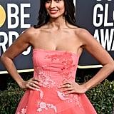 Jameela Jamil Golden Globes Gown 2019