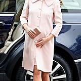 Kate Middleton Wearing Millennial Pink