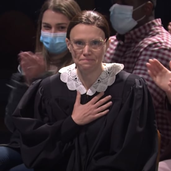 Kate McKinnon Pays Tribute to Ruth Bader Ginsburg on SNL