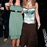 Remember gypsy skirts and satin corsets? Cheryl probably wishes she didn't! This 2005 look is probably best left in the past.