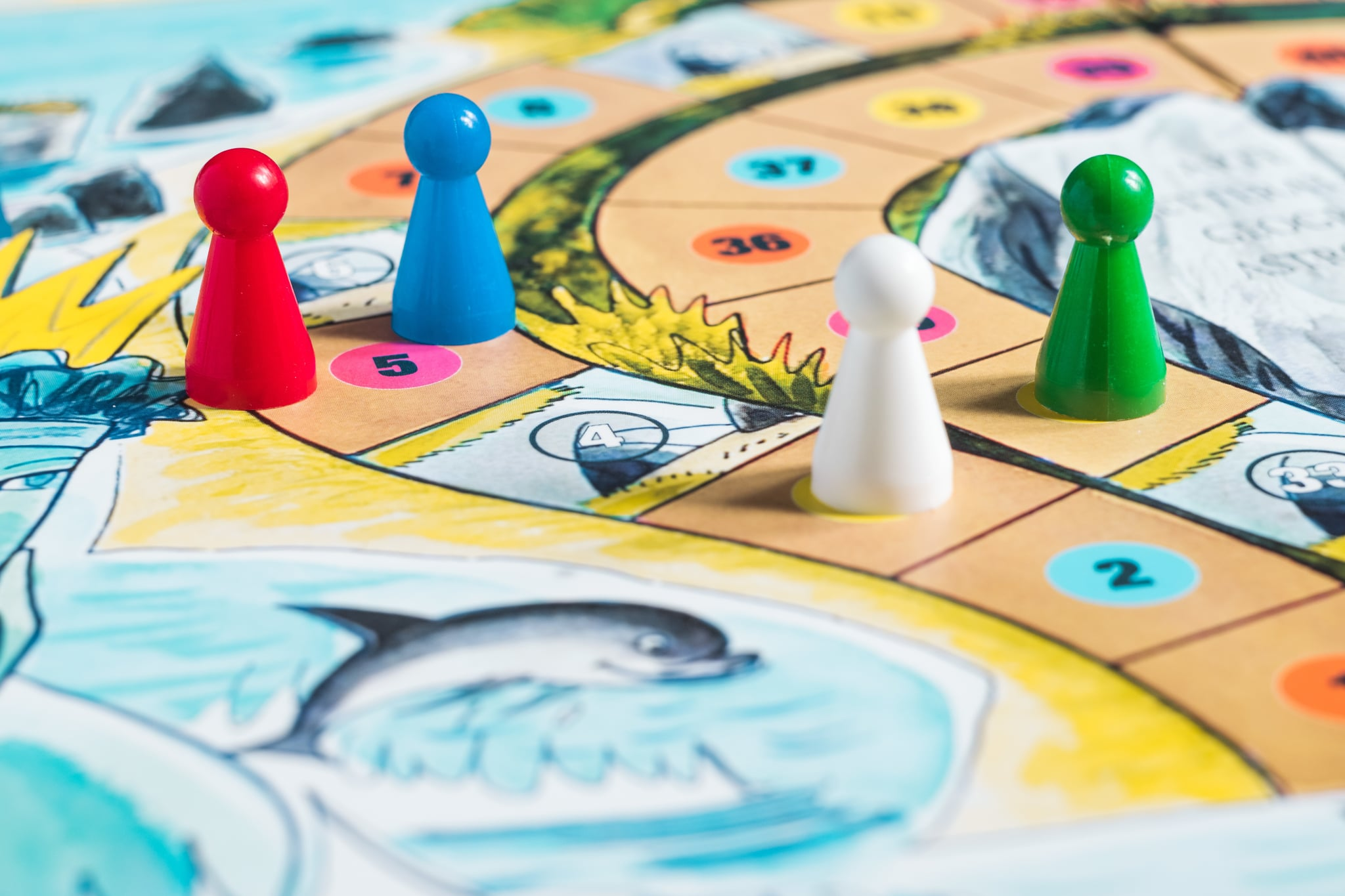 Have a Board Game Day   20 Indoor Activities So Good, Your Kids Might Not Mind Staying Inside   POPSUGAR Family Photo 4
