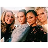 Nicole Richie and friends