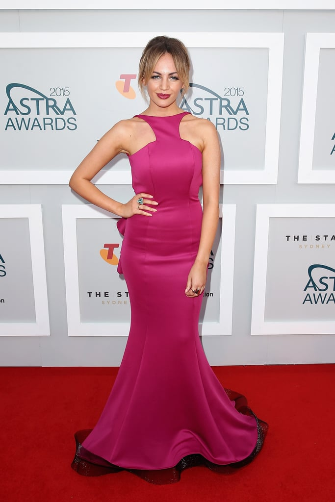 Samantha Jade In The Doll House 2015 Astra Awards Red Carpet